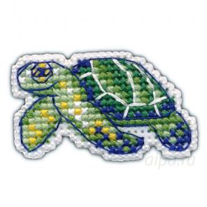 В рамке Черепаха набор Значок Набор для вышивания Овен 1097