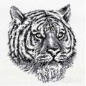 Тигр Набор для вышивания Белоснежка