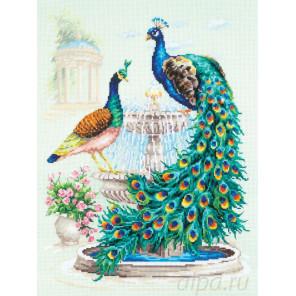 Павлины Набор для вышивания Чудесная игла 130-001