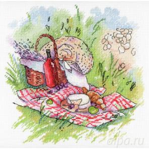 Прованский пикник Набор для вышивания МП Студия А-006