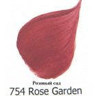 754 Розовый сад Акриловая краска FolkArt Plaid