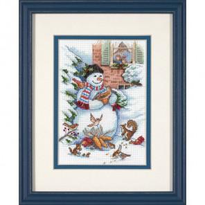 Снеговик и друзья 08801 Набор для вышивания Dimensions ( Дименшенс )