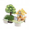 Уютный дом 3D Пазлы Zilipoo