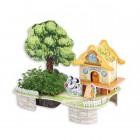 Уютный дом 3D Пазлы Zilipoo M-005