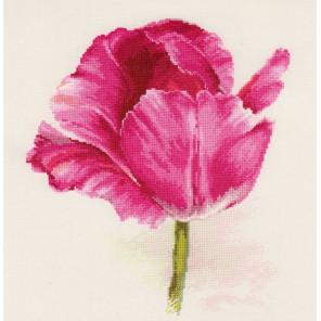 Тюльпаны. Малиновое сияние Набор для вышивания Алиса 2-43