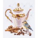 Ценитель кофе Набор для вышивания Алиса