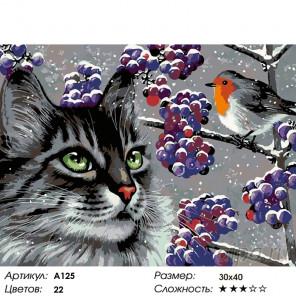 Количество цветов и сложность Интересный разговор Раскраска картина по номерам на холсте A125