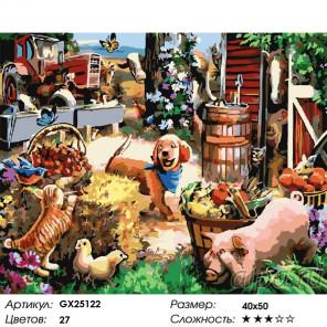 Сложность и количество красок День вдохновения Раскраска картина по номерам на холсте GX25122