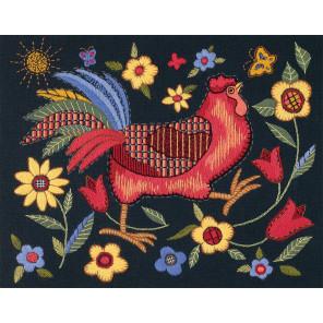 Красный петушок 01543 Набор для вышивания Dimensions ( Дименшенс )
