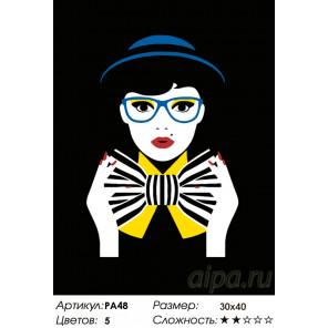 Количество цветов и сложность Модный приговор Раскраска по номерам на холсте Живопись по номерам PA48