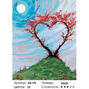 Сила любви Раскраска по номерам на холсте Живопись по номерам RA178