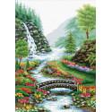 Река в лесу Набор для вышивания Белоснежка