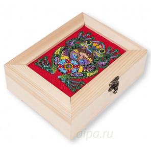 Символ богатства Набор для вышивания и декора шкатулки МАТРЕНИН ПОСАД 12010