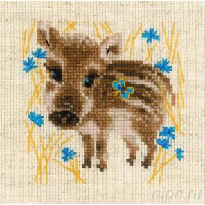 Маленький кабанчик Набор для вышивания Риолис 1756