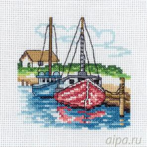 Два парусных судна Набор для вышивания Permin 13-8116