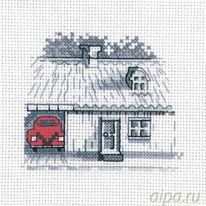 Гараж Набор для вышивания Permin 14-7114