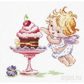 Люблю сладенькое! Набор для вышивания Чудесная игла 35-22