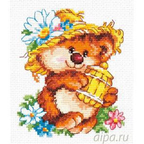 Сладкоежка Набор для вышивания Чудесная игла 17-19