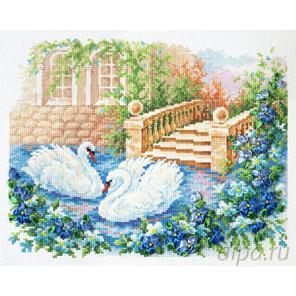 Лебединая верность Набор для вышивания Чудесная игла 64-07