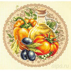 Средиземноморский салат Набор для вышивания Чудесная игла 54-01