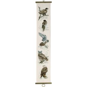 Хищная птица Набор для вышивания Permin 35-8130