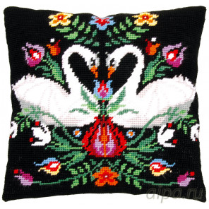 В рамке Зара Набор для вышивания подушки Vervaco PN-0168030