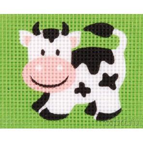 В рамке Корова Набор для вышивания Vervaco PN-0009584