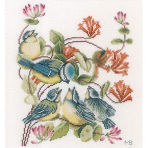 Chickadees Набор для вышивания LanArte PN-0170949