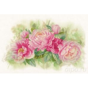 Bouquet of peonies Набор для вышивания LanArte PN-0170933