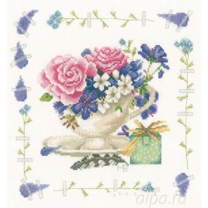 Bouquet of roses Набор для вышивания LanArte PN-0170950