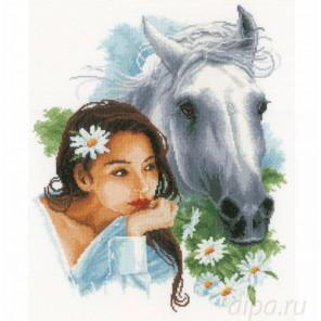 My best friend Набор для вышивания LanArte PN-0166310