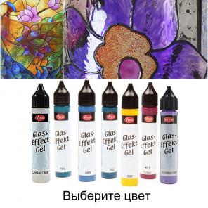 Выберите цвет Эффект стекла Гель Viva Decor