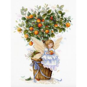Апельсиновая фея Набор для вышивания МП Студия НВ-652