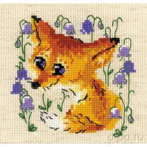 Маленький лисенок Набор для вышивания Риолис 1776