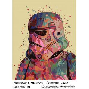 Количество цветов и сложность Штурмовик Раскраска по номерам на холсте Живопись по номерам KTMK-09990